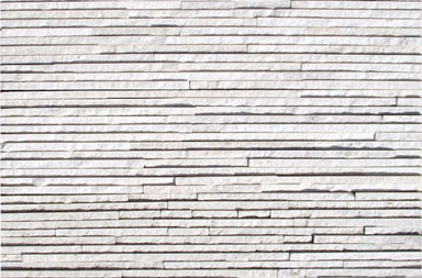 SD1308SW Crema-white Quartzite Flowing Line Ledgestone