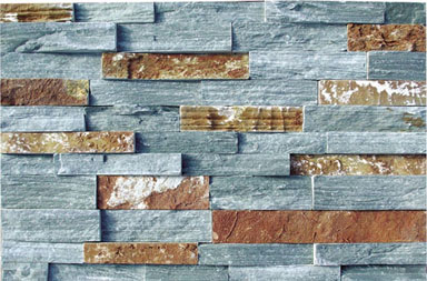 SE003-2 Mixed Natural stacked stone