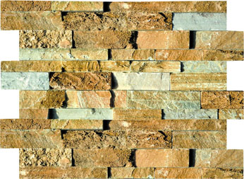 SE014-1 Yellow Natural Stone Cladding