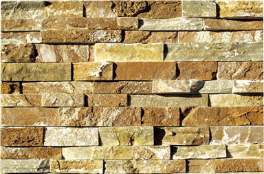 SE014-2 Rockface Yellow Stone Cladding