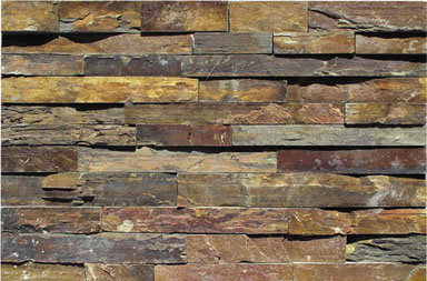 SE1120-2  Real Stone Veneer in Rusty Color