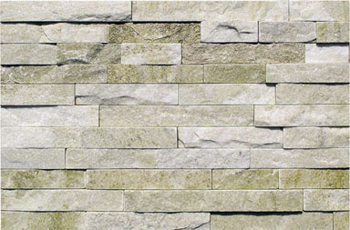SF1308MW Crystal Ivory Quartzite Ledgestone Cladding